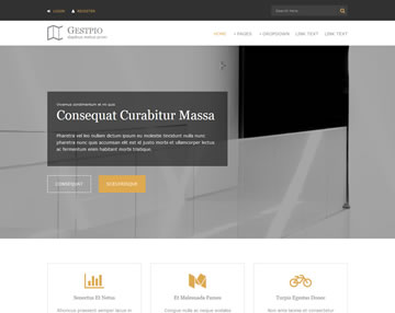 Gestpio Free Website Template