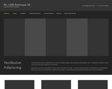 RS-1200 PTT 36 Free Website Template