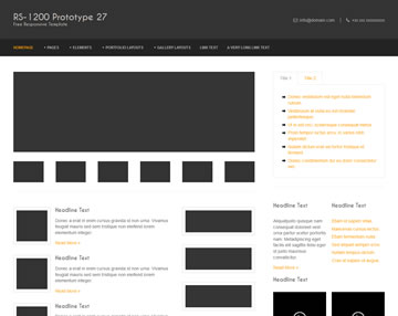 RS-1200 PTT 27 Free Website Template